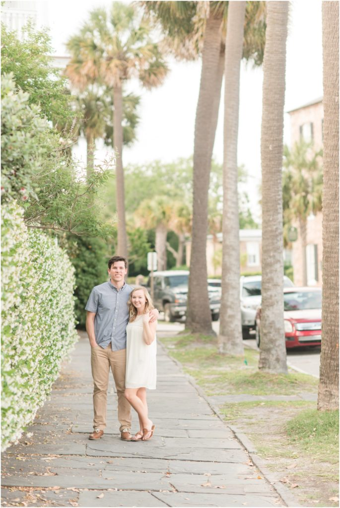 Downtown Charleston Engagement Session by Christa Rene Photography
