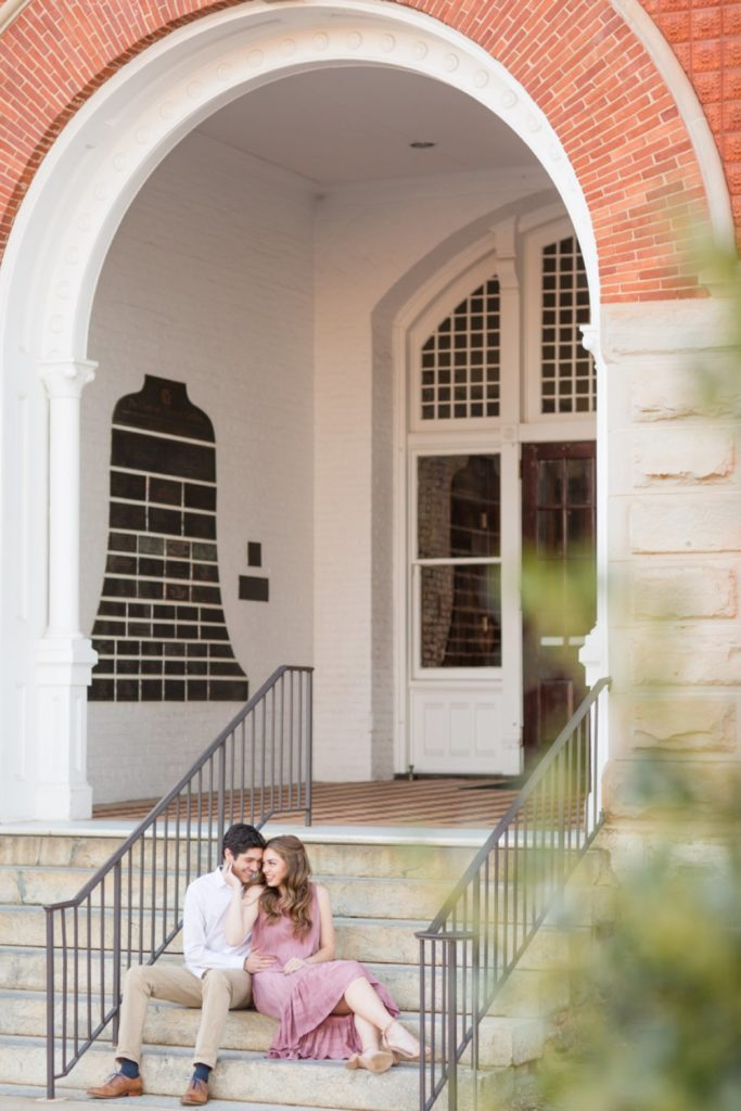 Clemson University Engagement Session | Preppy Engagement Session | SC Wedding Photographer Christa Rene Photography