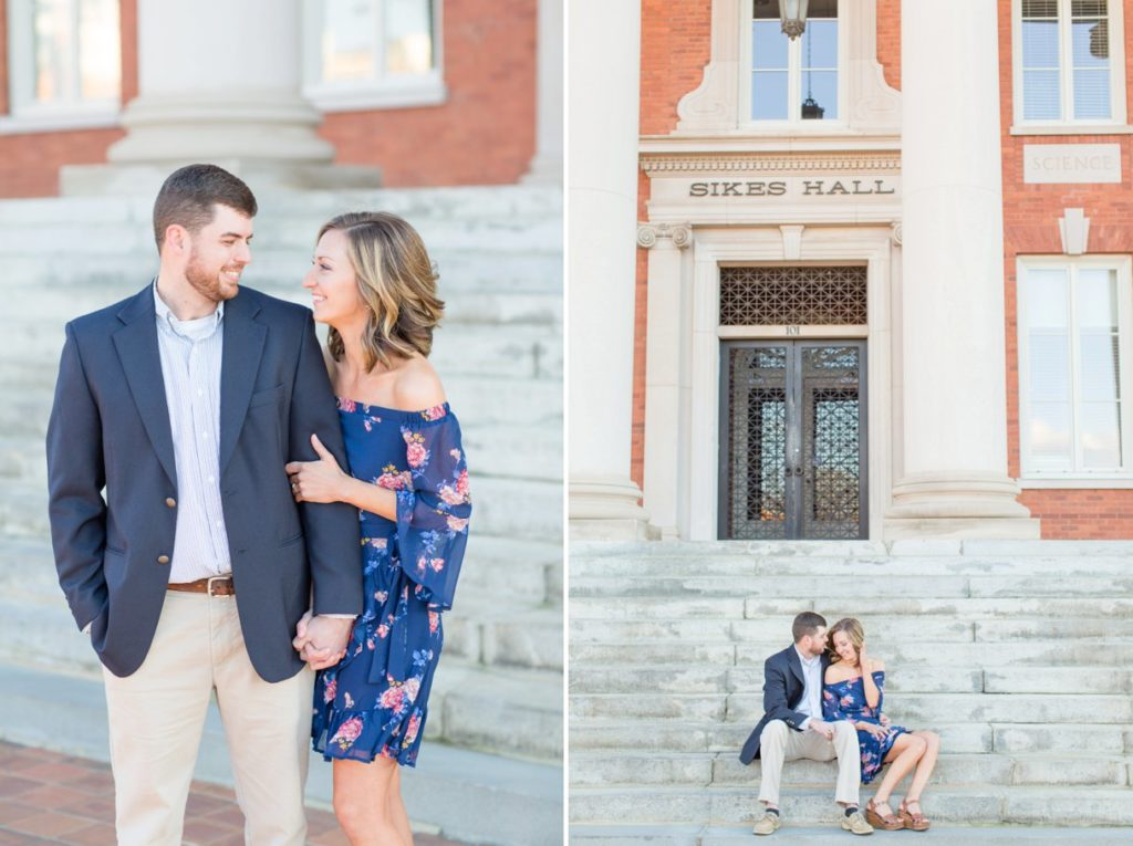 Clemson University Engagement Session | South Carolina Wedding Photographer | Christa Rene Photography