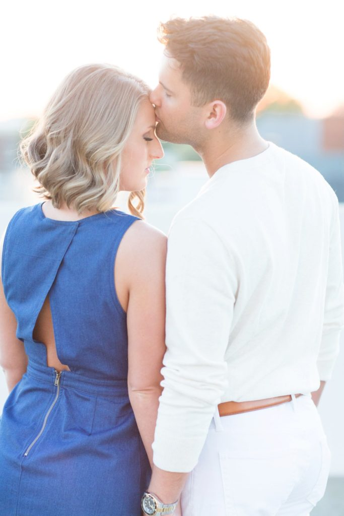 Downtown Greenville, SC Engagement Session | South Carolina Wedding Photographer Christa Rene Photography