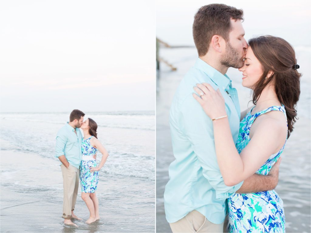 Charleston Engagement Session | Charleston Wedding Photographer | Battery Park Engagement | Christa Rene Photography