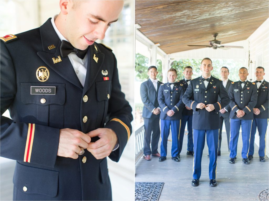 LaGrange Georgia Military Wedding and Three Oaks Farm Reception | Greenville, SC Wedding Photographer | Christa Rene Photography