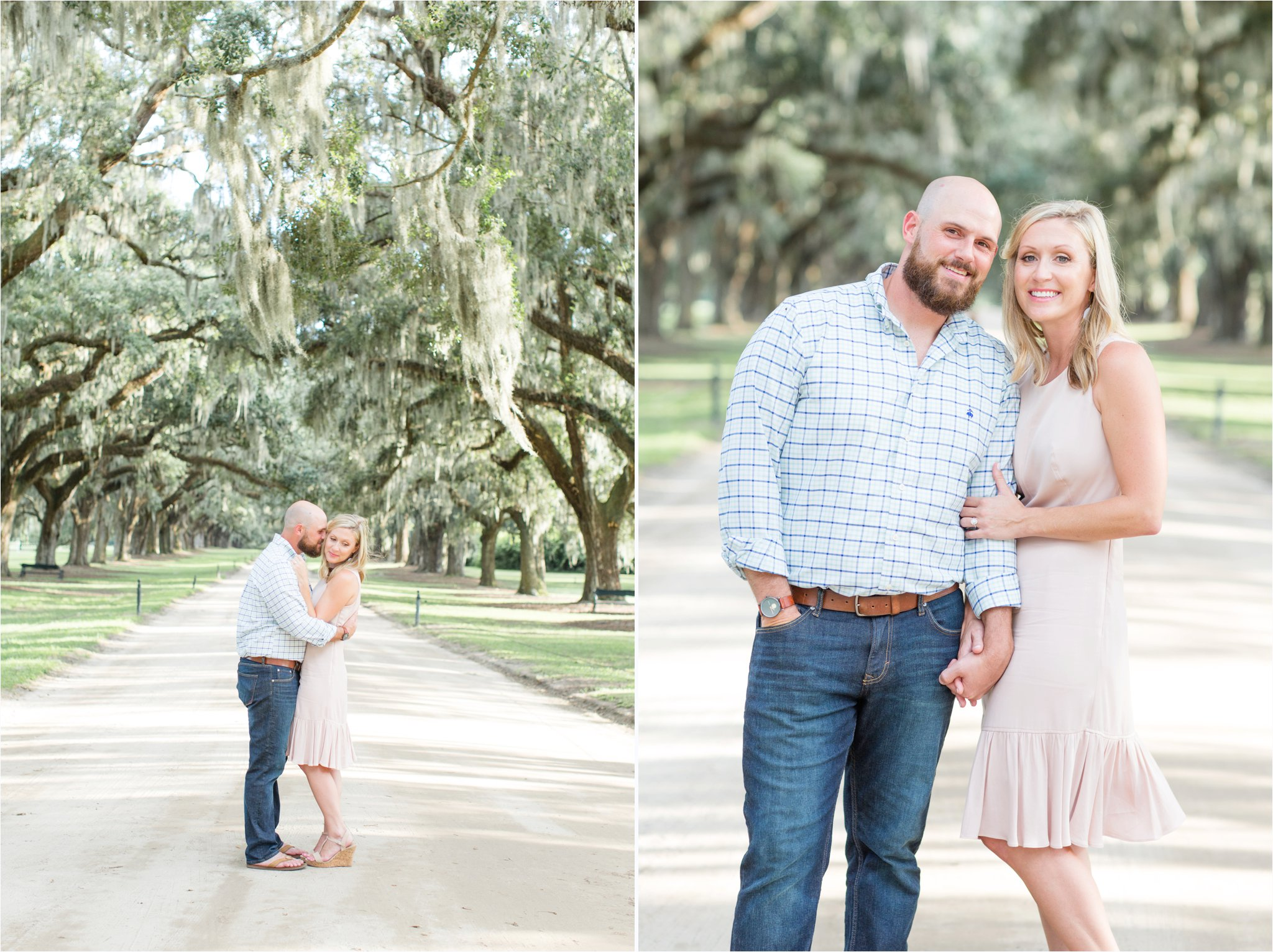 Boone Hall Engagement Session | Boone Hall Wedding Photographer | Charleston Wedding Photographer | Christa Rene Photography