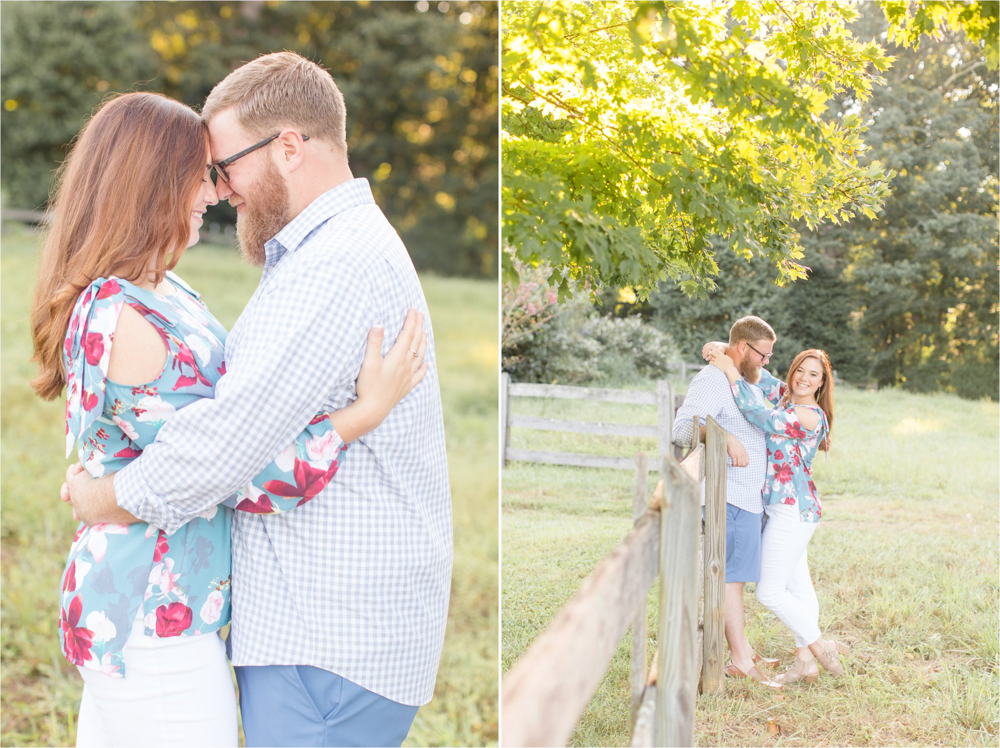 Greenville, SC Engagement Session | Field Engagement Session | South Carolina Wedding Photography | Christa Rene Photography