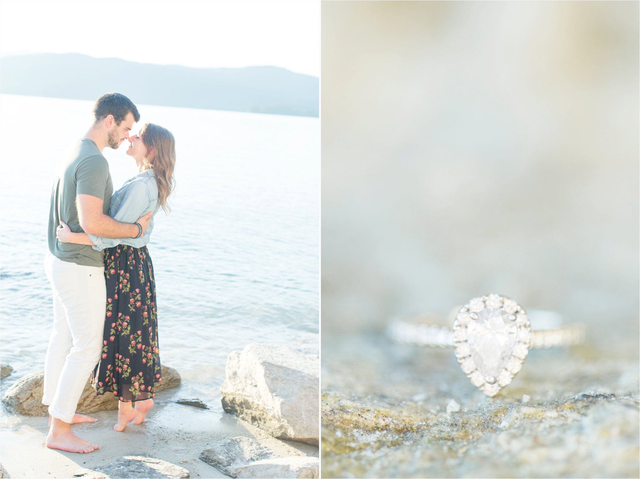 Lake Jocassee Engagement Session | SC Wedding Photographer | Christa Rene Photography