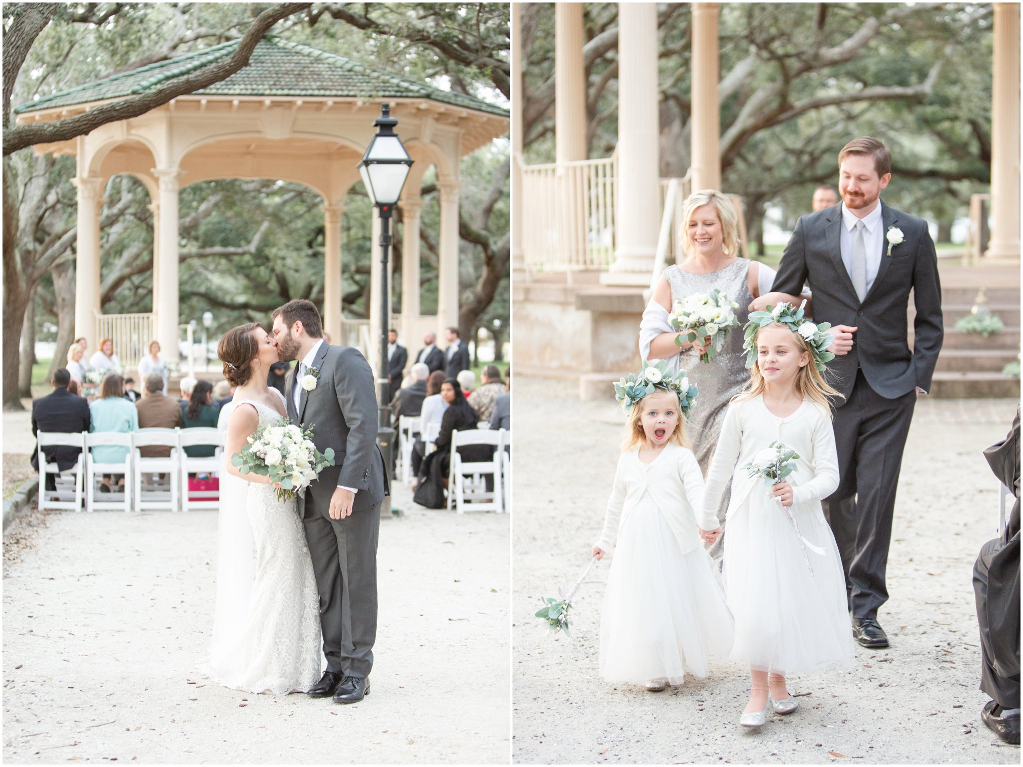 Downtown Charleston Wedding | White Point Garden Wedding | Upstairs at Midtown Reception