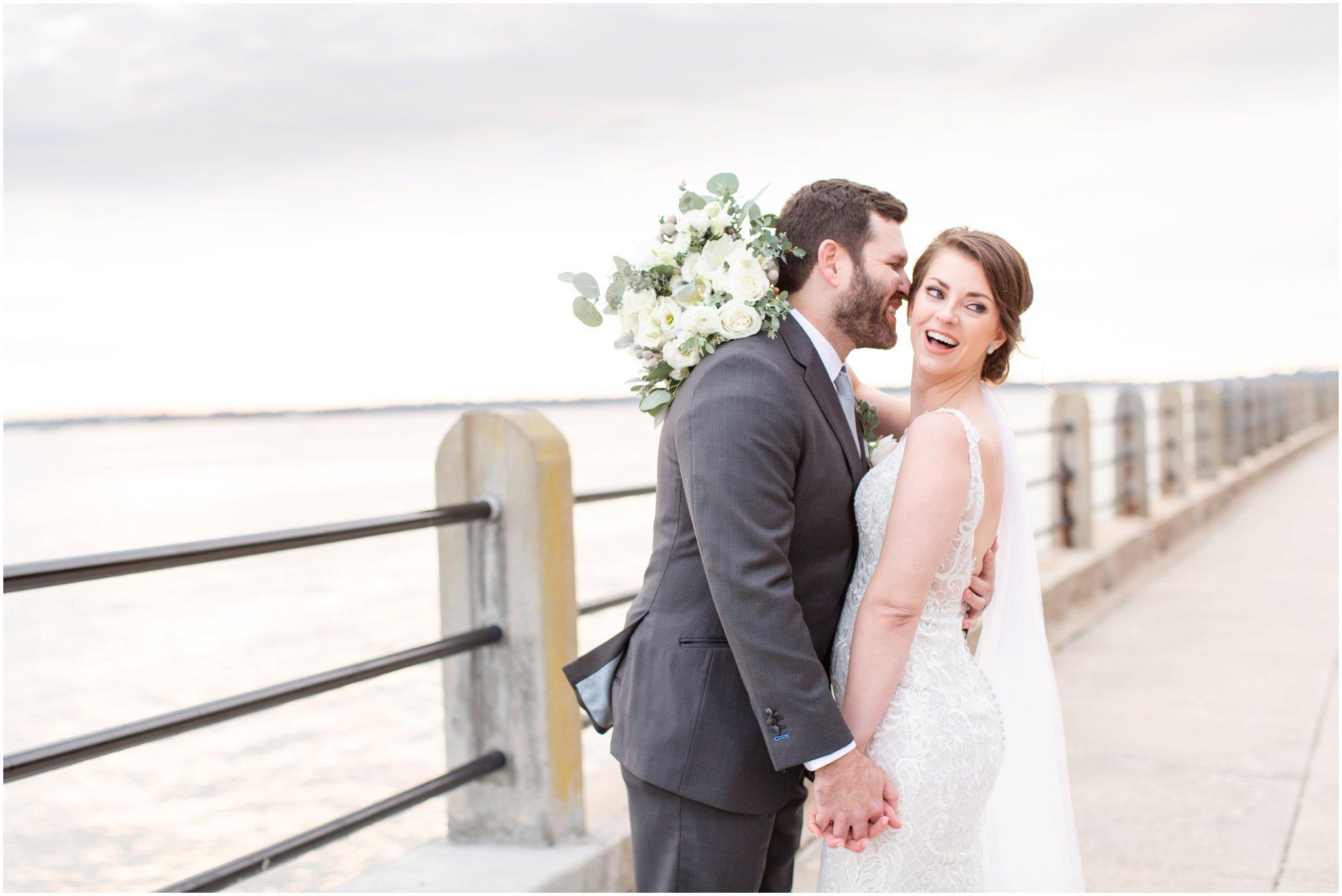 Downtown Charleston Wedding | White Point Garden Wedding | Upstairs at Midtown Reception