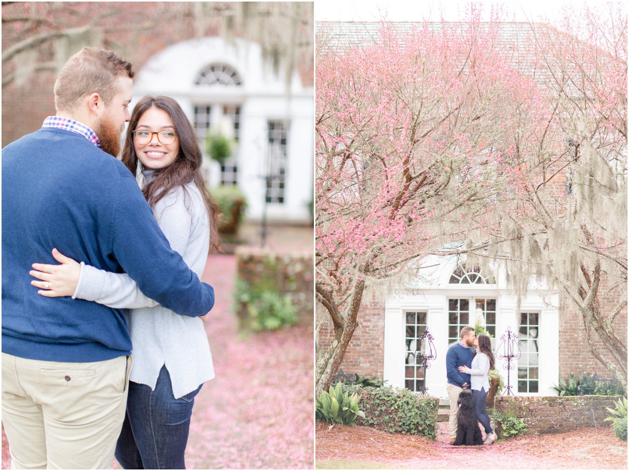 Boone Hall Plantation engagement session in Charleston, SC by Charleston wedding photographer Christa Rene Photography