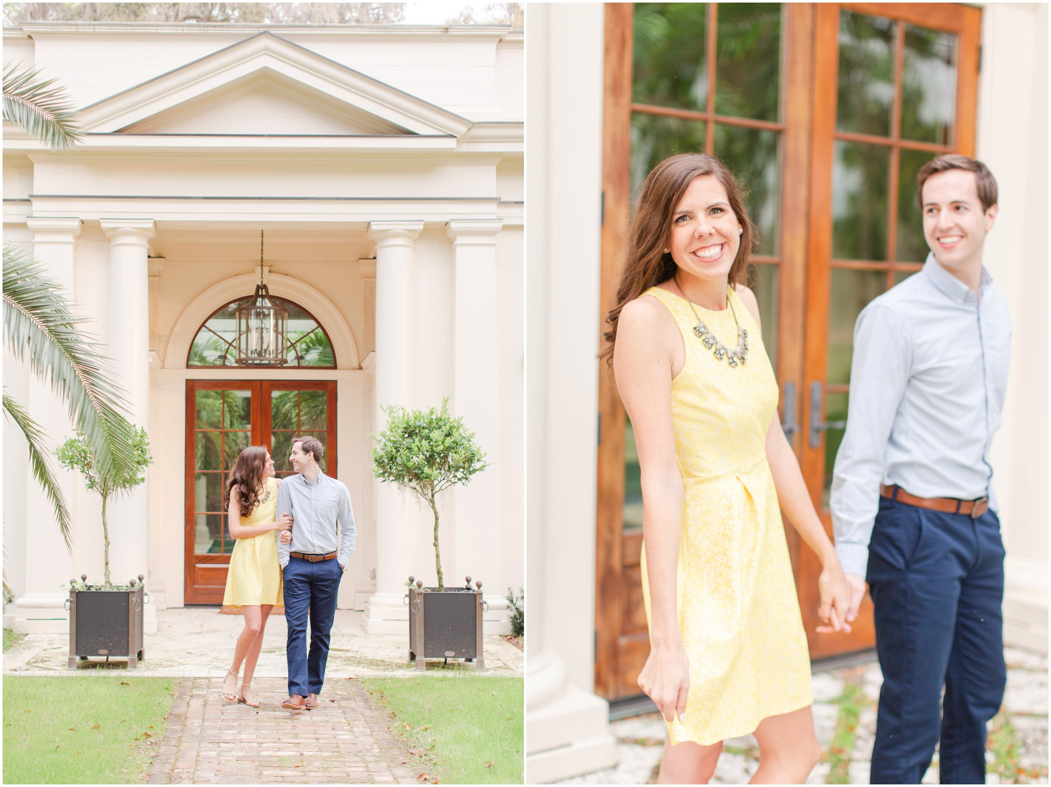 Savannah engagement session at Delta Plantation by Christa Rene Photography