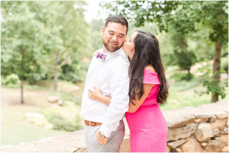 Greenville, SC Engagement Session with a travel theme by SC Wedding Photographer Christa Rene Photographer
