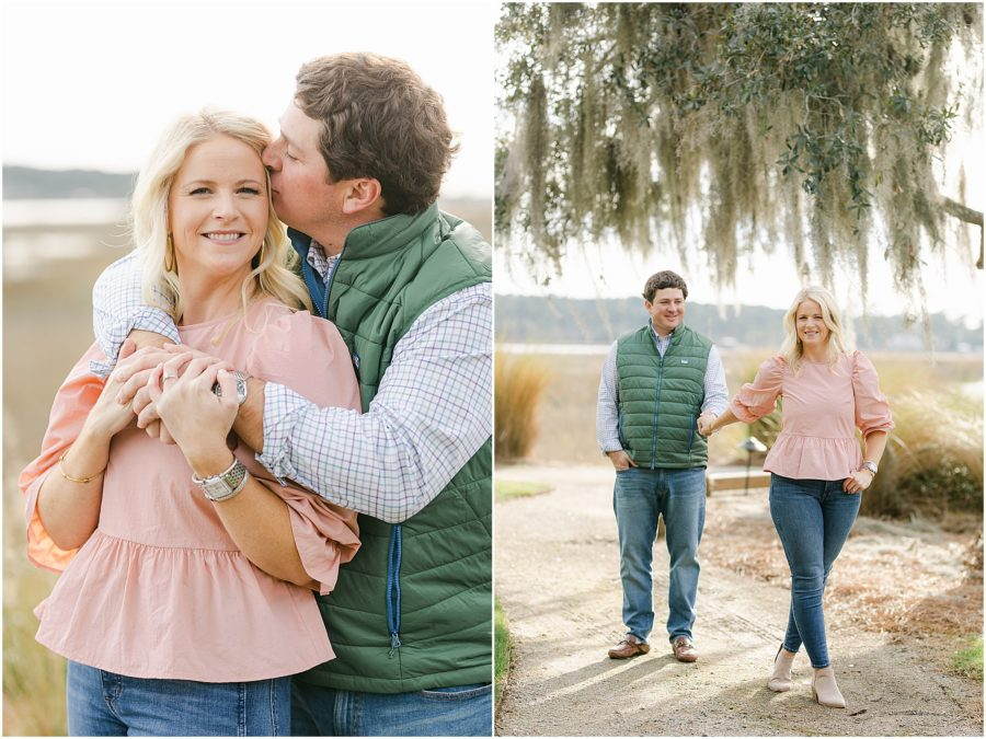 Oldfield Golf Course & Belfare Engagement Photos by Christa Rene Photography