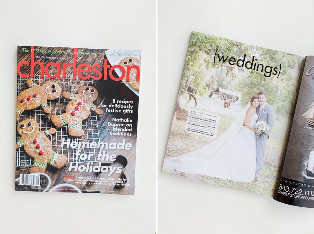 Charleston Magazine Wedding by Charleston Wedding Photographer Christa Rene Photography