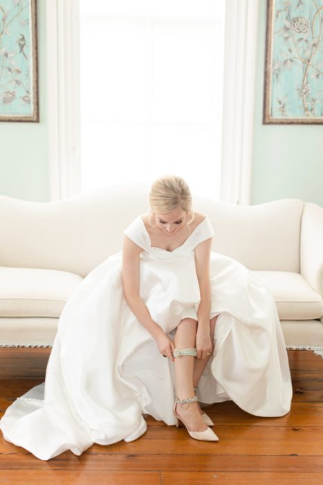 Southern outdoor wedding at The Merrimon-Wynne House by Christa Rene Photography