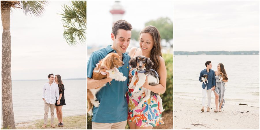 Hilton Head engagement session in Harbour Town by Hilton Head photographer Christa Rene Photography